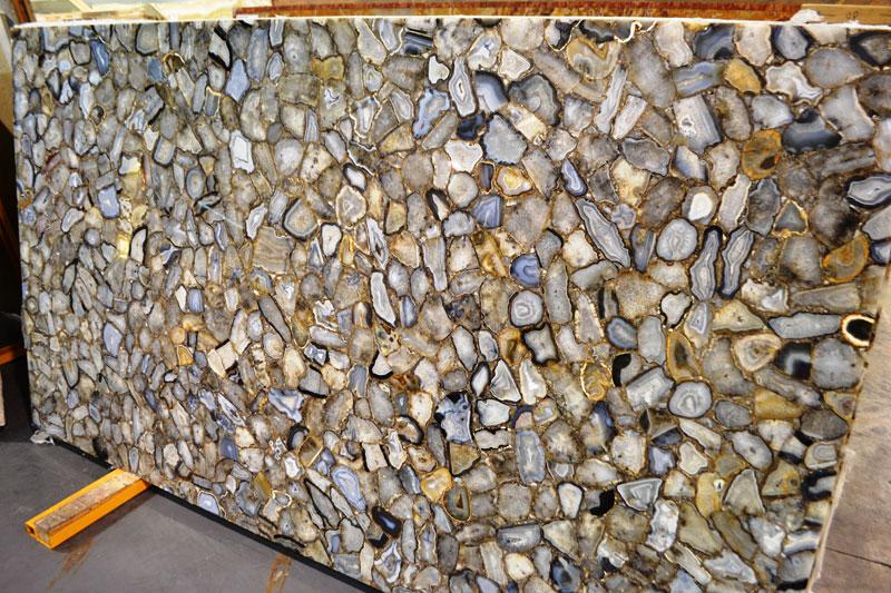 Semi Precious Stone Slabs - BR Stone Marble and GraniteBR